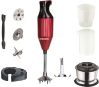 King Mix K_Turbo_Red 250 W Hand Blender(Red)