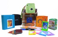 Fujifilm Mini 9 Lime Green Festive Pack Instant Camera(Green)
