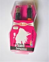 BESPECO SLFM450 PRO AUDIO CABLE XLR CABLE(Black)