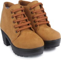 Do Bhai Boots(Tan)