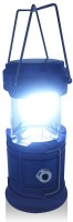 View Wonder World ™ 3-in-1 Rechargeable LED Camping Lantern Portable Hand-held Flashlight Party Light Decorative Lights(Blue) Home Appliances Price Online(Wonder World)