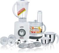 Inalsa Maxie Marvel 800 W Food Processor(White, Grey)