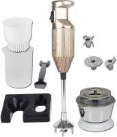 Anaar A _Wood_Silver 300 W Hand Blender(Silver)