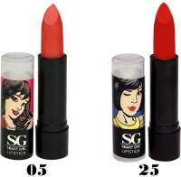 Amura Smart Girl LipStick Set of 2 (05,25)(4.5 g, 05,25) - Price 129 35 % Off