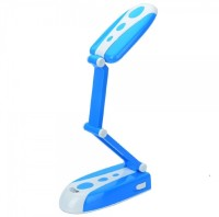 View Wonder World ® LED Desk Lamp 24Leds Folding Design Table Lamp For Kids Reading Learning Foldable Night Light Emergency Lights(Blue, White) Home Appliances Price Online(Wonder World)