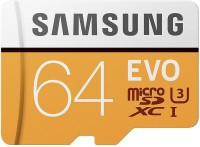 Samsung UHS 3 64 GB MicroSDXC Class 10 100 MB/s Memory Card(With Adapter)