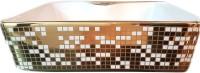 Brizzio Pixel Patten Wash Basin 505 Table Top Basin(Gold, White)