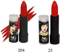 Amura Smart Girl LipStick Set of 2(4.5 g, 204,25) - Price 129 35 % Off