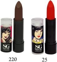 Amura Smart Girl LipStick Set of 2(4.5 g, 220,25) - Price 129 35 % Off