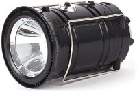 View Safeseed ® Led Solar Emergency Light Lantern, USB Mobile Charging, Torch Point 2 Power Source Solar; Lithium Battery Solar Lights(Black) Home Appliances Price Online(Safeseed)