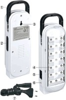 View Smuf DP 20 LED Emergency Lights(White, Black) Home Appliances Price Online(Smuf)