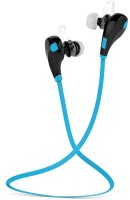 View lata Jogger Bluetooth Headphones With Mic jogger blue Bluetooth(Blue) Laptop Accessories Price Online(lata)