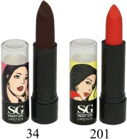 Amura Smart Girl LipStick Set of 2(4.5 g, 34201) - Price 129 35 % Off