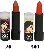 Amura Smart Girl LipStick Set of 2(4.5 g, 20201)