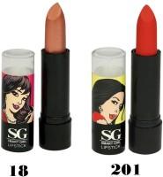 Amura Smart Girl LipStick Set of 2(4.5 g, 18201) - Price 129 35 % Off