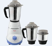 calix CMG-03 550 Mixer Grinder(white and blue, 3 Jars)