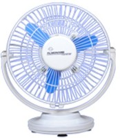 View almonard 9inch cabin fan 225mm 3 Blade Wall Fan(white blue) Home Appliances Price Online(Almonard)