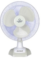 View almonard supreme high speed 3 Blade Table Fan(white, white) Home Appliances Price Online(Almonard)