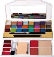 MITENO mars Makeup kit 24 eyeshadow,2 blusher,2 compact powder,4lipgloss,1eyepencil