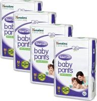 Himalaya Total Care Medium Size Baby Pants Diapers (54 Count) set of 4 - M(54 Pieces)