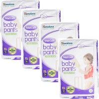 Himalaya Total Care Extra Large Size Baby Pants Diapers (54 Count) set of 4 - XL(54 Pieces)