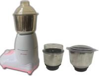 Silver Home Swift 550 Mixer Grinder(Pink, 3 Jars)