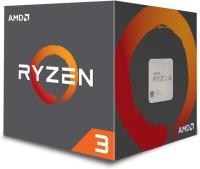 AMD 3.5 GHz AM4 YD130XBBAEBOX Processor(Silver)