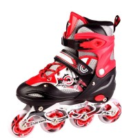 Solutions24x7 Roller Skate In-line Skates - Size 8-10 UK(Multicolor)