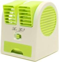View Kresto Mini Air Conditioner Mini Cooler 01 USB Fan(Green) Laptop Accessories Price Online(Kresto)