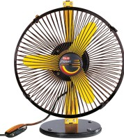 Polar Stormy 230 mm 3 Blade Table Fan(Yellow, Pack of 1)