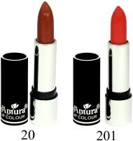 Amura Black Beauty Lip Colour Set of 2(4.5 g, 20201)