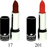 Amura Black Beauty Lip Colour Set of 2(4.5 g, 17201) - Price 139 53 % Off