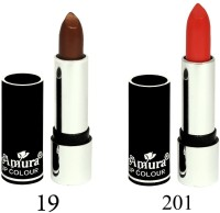 Amura Black Beauty Lip Colour Set of 2(4.5 g, 19201) - Price 139 53 % Off