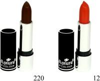 Amura Black Beauty Lip Colour Set of 2(4.5 g, 220,12) - Price 139 53 % Off