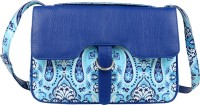 Angesbags Sling Bag(Blue, 5 inch)