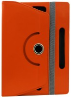Fastway Book Cover for Videocon VT 85 C(Orange, Artificial Leather)