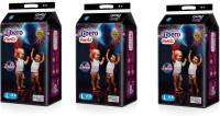 Libero Libero Diaper Pants Large Siz (36 count) Pack of 3 - L(108 Pieces)