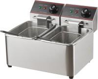 SHIVA SKEPL-DFF-DT-4L+4L 4 L Electric Deep Fryer
