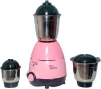 Captain Cook CAPTAIN53-NP 550 Mixer Grinder(Pink, 3 Jars)