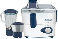 Maharaja Whiteline REAL 450 Juicer Mixer Grinder(Blue, 2 Jars)