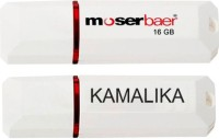View Moserbaer USB Drives 16GB Knight 16 GB Pen Drive(Red, White) Price Online(Moserbaer)