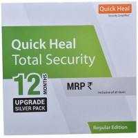 QUICK HEAL Total Security 1.0 User 1 Year (Renewal)(CD/DVD)