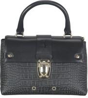 ADAMIS Women Black Genuine Leather Sling Bag