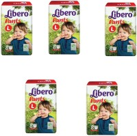 Libero Libero Large Size Diaper Pants (8 Counts) Pack of 5 - L(40 Pieces)