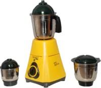 Captain Cook 53-NY 550 Mixer Grinder(Yellow, 3 Jars)