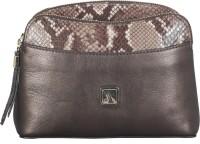 ADAMIS Women Brown Genuine Leather Sling Bag