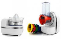 Torra International 3 in 1 250 W Food Processor(White)