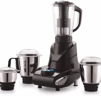 jusal mixer Jio Black 1000 W Juicer Mixer Grinder(Black, 4 Jars)