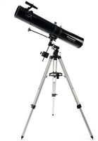 CELESTRON PowerSeeker 114EQ Reflector Telescope + PowerSeeker Accessory Kit Reflecting Telescope(Manual Tracking)