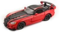 Bburago Dodge Viper SRT 10 ACR(Red, Black)